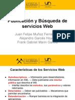 Publicación y Búsqueda de Servicios Web