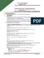 Modulo 07-8!9!10 Valor Numerico de Una Expresion Algebraica