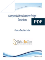 Complete Guide to Container Freight Derivatives