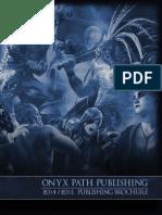 Onyx Path 2014-2015 Publishing Brochure (6235818)
