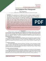 Construction Equipment Fleet Management
