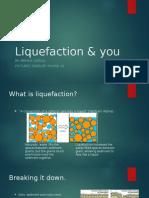 liquefaction & you