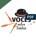 Logotipo Voces Entre Tablas