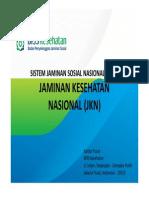 Program SJSN Oleh BPJS Kesehatan