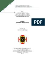 Linea de Producción Panzerotti