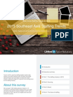 2015 Southeast Asia Staffing Trends