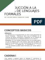Introducción a La Teoría de Lenguajes Formales