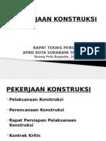 2.1.Pelaksanaan Pekerjaan Konstruksi APBD 2014 Kota Surabaya (Mudji Irmawan)