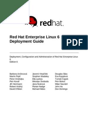 Red Hat Enterprise Linux 6 Deployment Guide en US | Osi