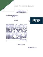 UMR1-Diamonon vs. DOLE, Et Al., G.R. No. 108951, March 7, 2000