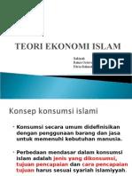 Teori Konsumsi Islam