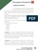 PHARMACOGNOSY & PHYTOCHEMISTRY