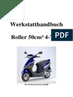 Werkstatthandbuch RS 450