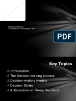 Handout 2 - Decision Making