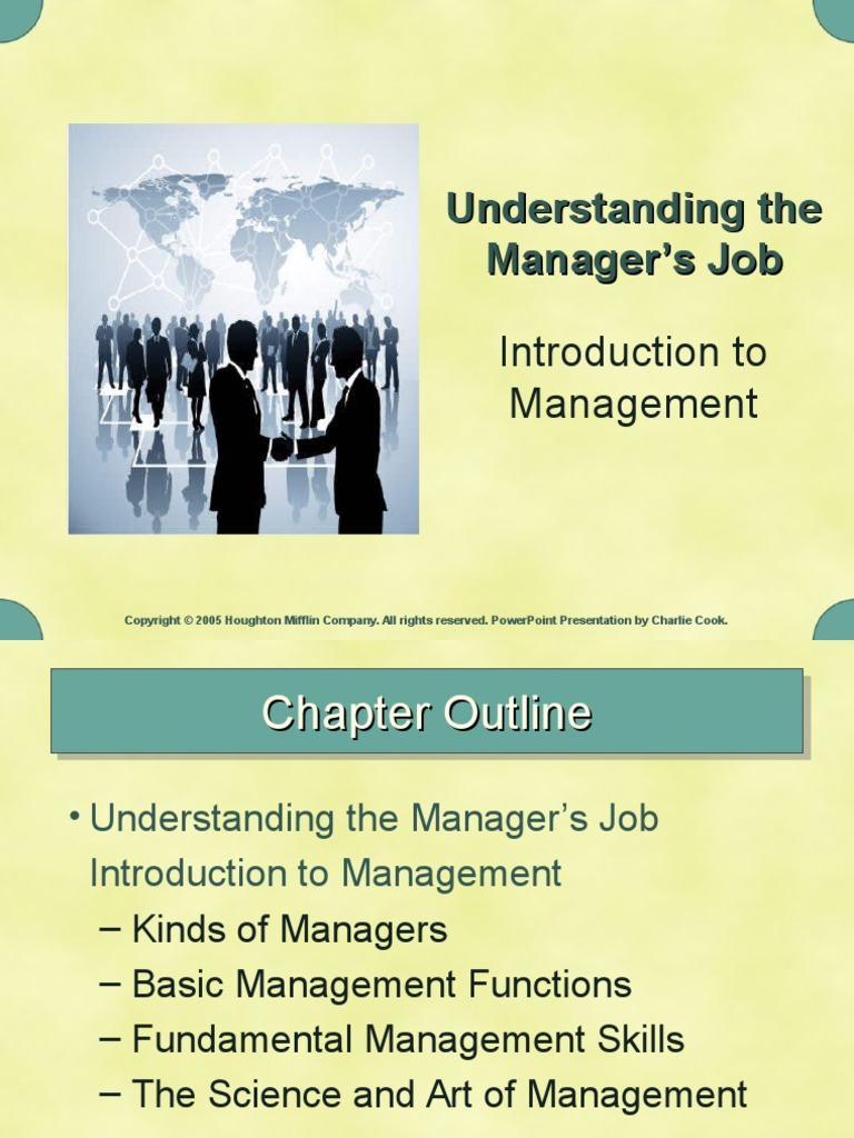 Basics Of Management Ppt