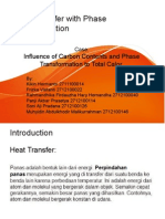 Heat Transfer With Phase Transformation