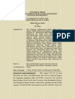 Detailed Judgement of Mumtaz Qadri vs State