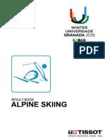 WU Granada 2015 Alpine Skiing Results