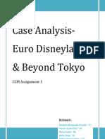 Euro Disneyland & Beyond Tokyo Case Analysis