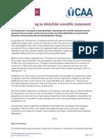 caa responding to aha asa scientific statement 110814
