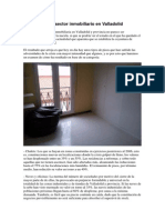 Perdida del secotor Inmobiliario en Valladolid