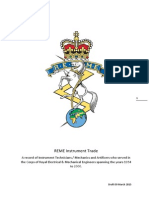 REME Instrument Tech&Mech Trade 1954 - 2000