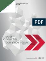 Audi Geschäftsbericht 2014