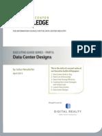 2 27026 Data Center Knowledge Executive Guide - Data Center Designs