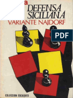 25 Escaques Defensa.siciliana.variante.najdorf. .Pedro.cherta