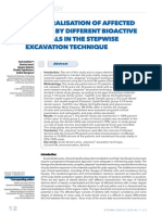 Remineralisation of Affected Dentine by Different Bioactive Materials in the Stepwise Excavation Technique