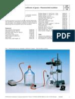 Adiabatic Coefficient of Gases – Flammersfeld Oscillator
