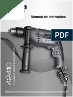 Manual Da Furadeira de Impacto