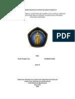 Tugas Paper Teknologi Pengolahan Nabati II