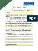 English Proficiency Evaluation Form[1]