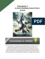 Divergente 2 L'Insurrection.2015.DVDRip.french.film.Torrent