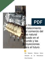 La Incidencia Del Fortalecimiento Del Comercio Del Gas Natural Licuado en El Mundo y Las Proyecciones Para El Futuro