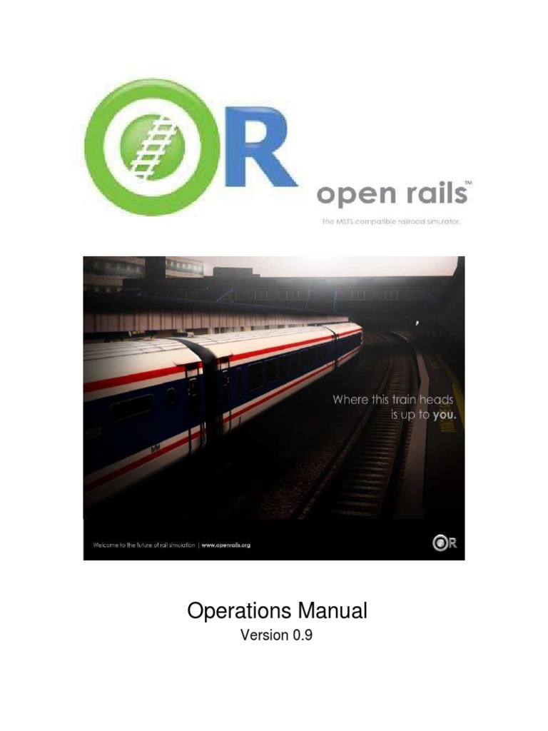OpenRails Manual | Steam Locomotive | Simulation