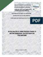 Diagnóstico Do Setor Mineral Do Estado Do Tocantins