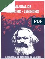 Manual de Marxismo-leninismo - Academia Ciencias de La URSS