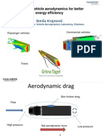 Improving Vehicle Aerodynamics for Better