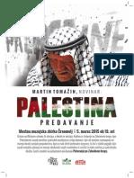 Palestina Martin Tomažin