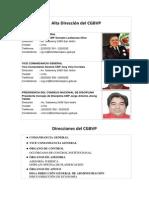 Alta Dirección Del CGBVP
