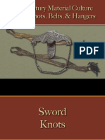 Military - Arms & Accoutrements - Swords - Sword Knots, Belts, & Hangers