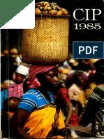CIP Informe Anual 1985