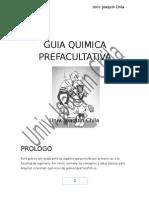Guía Quimica preuniversitaria Primer Parcial UMSA