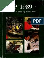 CIP Informe Anual 1989