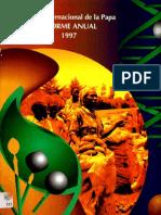 CIP Informe Anual 1997