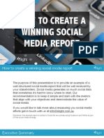 How to Create a Winning Social Media Report 140602031705 Phpapp02 (1)