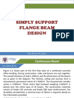 Chapter 5.3 - Flange Beam