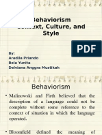 Behaviorism ppt
